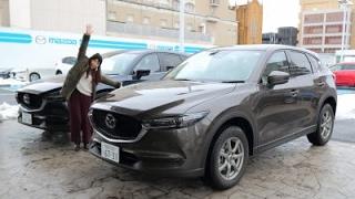 getlinkyoutube.com-【女性レポーターが試乗】新型CX-5 25S L Package(ガソリン車)、エンジン部XD(ディーゼル) PROACTIVE