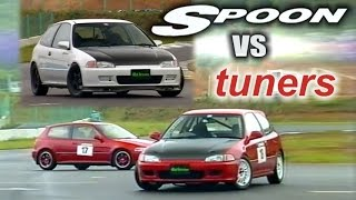 getlinkyoutube.com-[ENG CC] Spoon vs. tuners - Civic EG6 battle Ebisu HV33