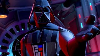getlinkyoutube.com-Disney Infinity 3.0 - Rise Against the Empire Playset Finale - Darth Vader Final Boss Fight