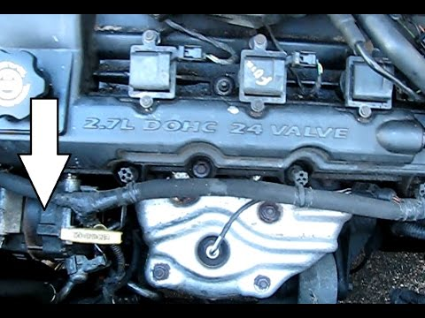 How to replace the alternator on a 2.7L Chrysler Engine: Sebring, Intrepid, Stratus ...1998-2010