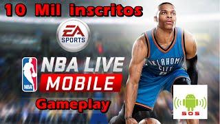 getlinkyoutube.com-NBA Live Mobile gameplay Android  -  10 Mil inscritos