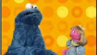 getlinkyoutube.com-Play With Me Sesame: Cookie Monster and Prairie Dawn Bake Make-Believe Cookies