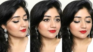 getlinkyoutube.com-Party Makeup Tutorial for Indian skin | corallista