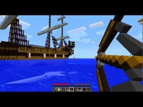Minecraft: A batalha entre Navios ! ; )