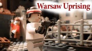 getlinkyoutube.com-Lego Warsaw Uprising 1944 (Powstanie warszawskie)