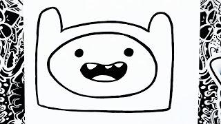 getlinkyoutube.com-como dibujar a finn | how to draw finn