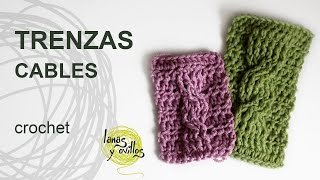 getlinkyoutube.com-Tutorial Trenzas u Ochos Crochet o Ganchillo Cables