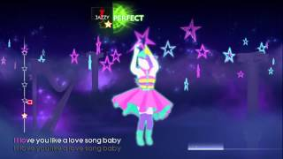getlinkyoutube.com-Love You Like A Love Song (Just Dance 4) *5