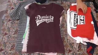 getlinkyoutube.com-ЕЩЁ РАСПАКОВКА - футболки. second hand
