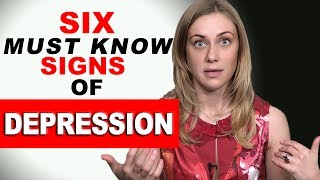 getlinkyoutube.com-6 MUST KNOW SIGNS of DEPRESSION! psychology with therapist Kati Morton
