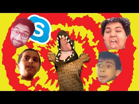 التمساح الحلقة ٩١: السكايبية الريمكسية | Temsa7LY