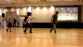 getlinkyoutube.com-Cliche Love Song ~ Line Dance - Demo by Jo Thompson, Guyton Mundy & John Robinson @ 2015 WCLDM