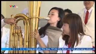 getlinkyoutube.com-Nam Định: Độc đáo đội kèn đồng nữ Hải Hậu