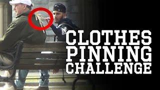 getlinkyoutube.com-Clothes Pinning Prank - 18 PINS (@CaptainShorif)