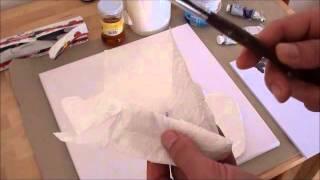 getlinkyoutube.com-Tipps für Anfänger der Acrylmalerei (12): sechs kleine Tricks