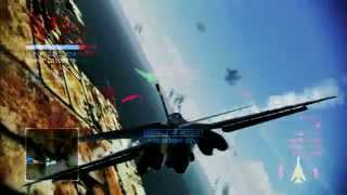 getlinkyoutube.com-Pipeline Destruction | B1 Lancer -Razor- | A Rank | Ace Combat Infinity Co-Op