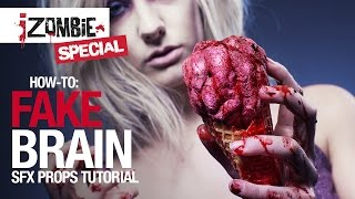 getlinkyoutube.com-How-to: iZombie fake brain tutorial
