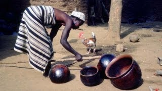 getlinkyoutube.com-African Pottery Forming and Firing