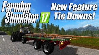 getlinkyoutube.com-Farming Simulator 17 - New Feature: Tie Downs!