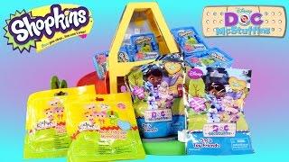 getlinkyoutube.com-SURPRISE BAG TOYS Rare Lalaloopsy Disney Junior Doc McStuffins and Shopkins at Peppa Pig's Park