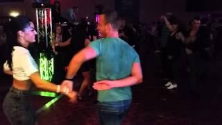 getlinkyoutube.com-Ella Jauk & Gil Ashkenazi Social Dancing @ On2 Salsa Congress 2014