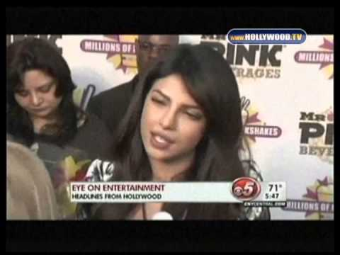 Priyanka Chopra at Millions of Milkshakes on WTVH
