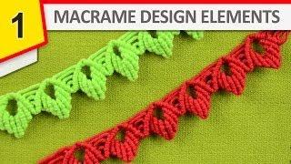 getlinkyoutube.com-Design Elements - Macrame edging