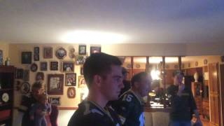 Green Bay packer fan reaction to mason crosby field goal vs Cowboys