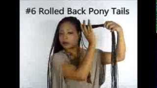 getlinkyoutube.com-13. | Hairstyle! 10 Ways To Style Long Senegalese Twists Braids Updos Bun Elegant Casual Gweni*Lavay
