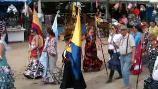 getlinkyoutube.com-El Rocio 2012 - Ir en coche de caballos