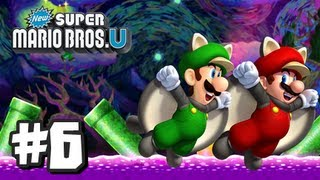 getlinkyoutube.com-New Super Mario Bros U Wii U - Part 6 World 5-Airship, 5-1, 5-2, 5-3, 5-Tower, 5-Boo House, & 5-4