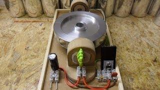 getlinkyoutube.com-Pulse Motor_Basic setup - Almost zero B-emf Update 1 Hyperdrive speed, N-channel mosfet...