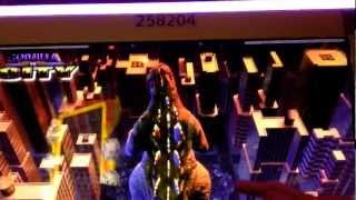 getlinkyoutube.com-Godzilla Slot Bonus win - Palazzo Las Vegas
