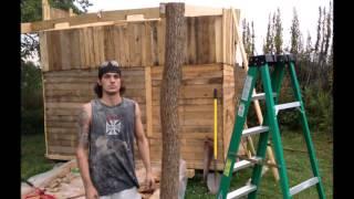getlinkyoutube.com-My pallet cabin