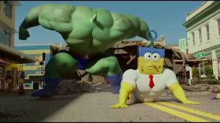 getlinkyoutube.com-Plankton vs. Burgerobrody - The SpongeBob Movie: Sponge Out of Water 2015
