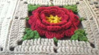 getlinkyoutube.com-T&P - Red Roses in the Desert - Sorry I have NO pattern, just match the colours!