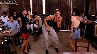 Van Damme Dançando, Estremece Quando Ela Desce ♫