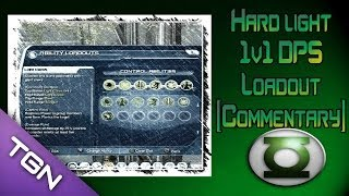 DCUO: Hard Light 1v1 DPS Loadout (Commentary/Gameplay)
