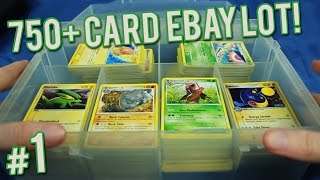 getlinkyoutube.com-Pokemon Cards - 750+ Card eBay Lot | PART 1 of 6