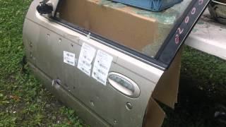 getlinkyoutube.com-380 ACP Federal FMJ vs CAR DOOR - Penetration Test