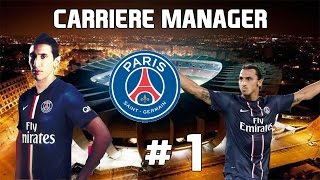 getlinkyoutube.com-Fifa 16: Carrière Manager PSG #1: Challenge Américain