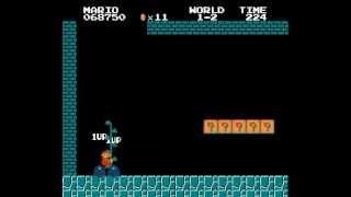 getlinkyoutube.com-Descubierto nuevo glitch de Super Mario Bros, tres décadas después