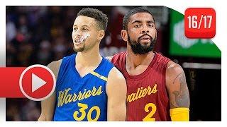 getlinkyoutube.com-Kyrie Irving vs Stephen Curry PG Christmas Duel Highlights (2016.12.25) - Warriors vs Cavs