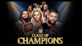 WWE  16 December 2017 Clash Of Champions Full Show--CLASH OF CHAMPIONS 12/16/2017 Full Show