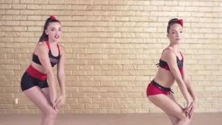 getlinkyoutube.com-Kendall Vertes And Maddie Ziegler - The Bro Groove (ABBY LEE DANCE SECRETS APP)