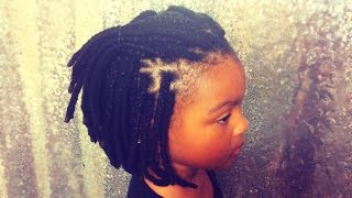 getlinkyoutube.com-Natural Hair Braids for Kids: Bob Cut Protective Style| Supa Natural