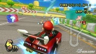 getlinkyoutube.com-Vidéotest Mario Kart Wii