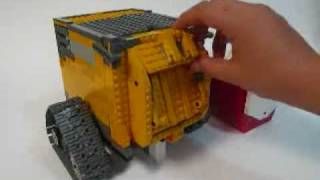 getlinkyoutube.com-LEGO Transformable WALL E