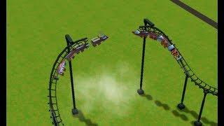 getlinkyoutube.com-Roller Coaster Tycoon 3 Death Park adventures 1.0