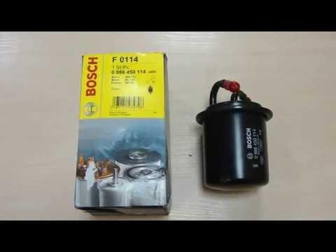 Топливный фильтр bosch на Subaru Impreza GDD 2000-2007